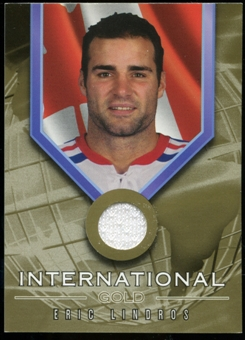 2001/02 BAP Signature Series International Medals Jersey #IG7 Eric Lindros