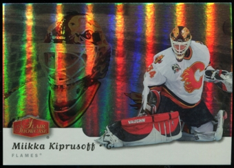 2006/07 Upper Deck Flair Showcase #275 Miikka Kiprusoff SP