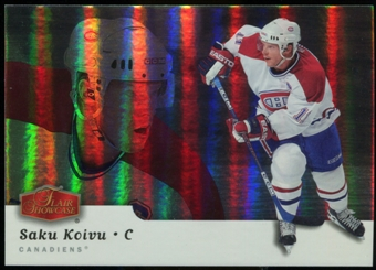 2006/07 Upper Deck Flair Showcase #284 Saku Koivu SP