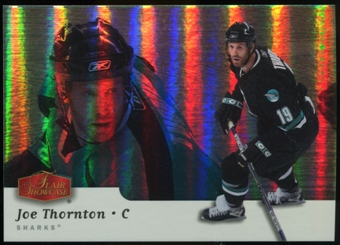 2006/07 Upper Deck Flair Showcase #295 Joe Thornton SP