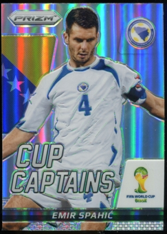 2014 Panini Prizm World Cup Cup Captains Prizms #9 Emir Spahic
