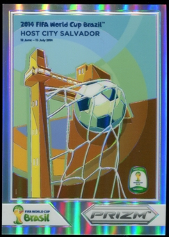 2014 Panini Prizm World Cup World Cup Posters Prizms #11 Salvador