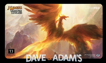 Magic the Gathering Grand Prix Cleveland Flamewake Phoenix Playmat