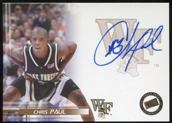 2005/06 Press Pass Autographs #CP Chris Paul Rookie Card!