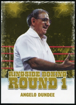 2010 Ringside Boxing Round One Gold #2 Angelo Dundee