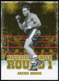 2010 Ringside Boxing Round One Gold #4 Archie Moore
