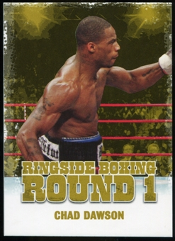 2010 Ringside Boxing Round One Gold #12 Chad Dawson