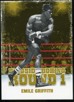 2010 Ringside Boxing Round One Gold #14 Emile Griffith