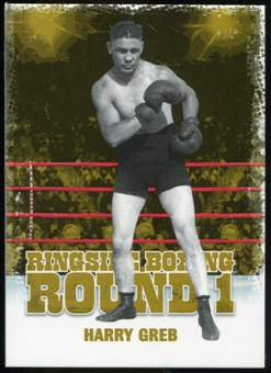 2010 Ringside Boxing Round One Gold #20 Harry Greb
