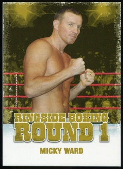 2010 Ringside Boxing Round One Gold #35 Micky Ward