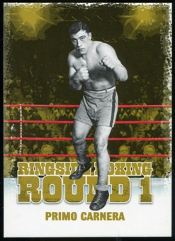 2010 Ringside Boxing Round One Gold #40 Primo Carnera
