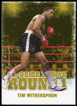 2010 Ringside Boxing Round One Gold #48 Tim Witherspoon