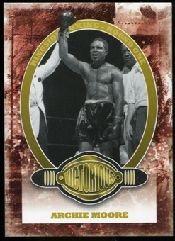 2010 Ringside Boxing Round One Gold #77 Archie Moore