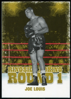 2010 Ringside Boxing Round One Gold #28 Joe Louis