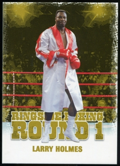 2010 Ringside Boxing Round One Gold #30 Larry Holmes