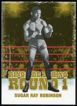 2010 Ringside Boxing Round One Gold #47 Sugar Ray Robinson