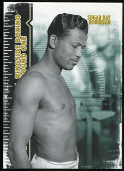 2010 Ringside Boxing Round One Gold #58 Sugar Ray Robinson