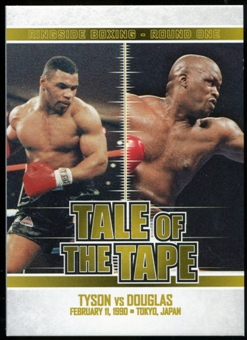 2010 Ringside Boxing Round One Gold #67 Mike Tyson/Buster Douglas
