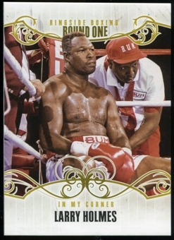 2010 Ringside Boxing Round One Gold #70 Larry Holmes