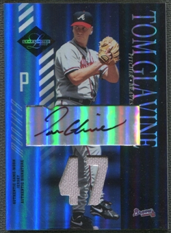 2003 Leaf Limited #65 Tom Glavine Moniker Jersey Auto #4/5