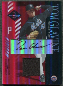 2003 Leaf Limited #76 Tom Glavine Moniker Jersey Auto #3/5
