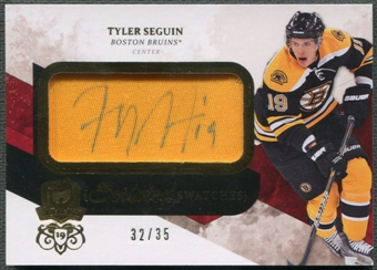 2010/11 The Cup #SSTS Tyler Seguin Scripted Swatches Rookie Patch Auto #32/35