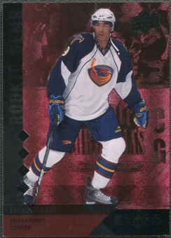 2009/10 Black Diamond #219 Evander Kane Rookie Gems Ruby #096/100