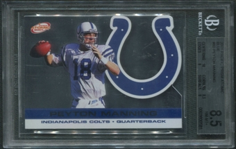 2001 Pacific Prism #60 Peyton Manning Atomic Blue #23/29 BGS 8.5 (NM-MT+) *0581