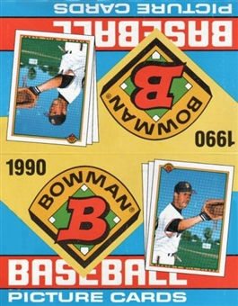 1990 Bowman Baseball Rack Box