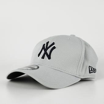 New York Yankees New Era Grey 39Thirty Double Timer Flex Fit Hat
