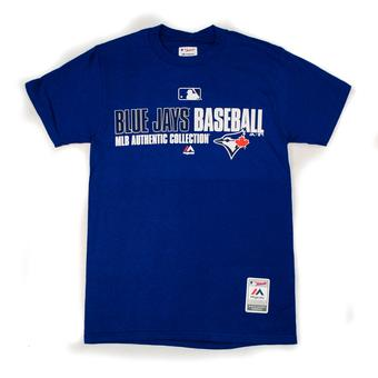 Toronto Blue Jays Majestic Royal Blue Team Favorite Tee Shirt (Adult M)