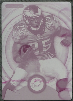 2013 Topps Strata #35 LeSean McCoy Printing Plate Magenta #1/1