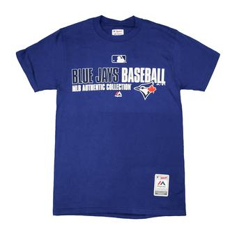 Toronto Blue Jays Majestic Royal Blue Team Favorite Tee Shirt (Adult L)