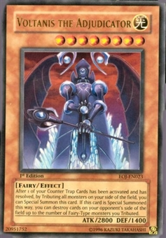 Yu-Gi-Oh Enemy of Justice Single Voltanis the Adjudicator Ultra Rare
