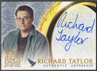 2003 Lord of the Rings Return of the King #NNO Richard Taylor Auto