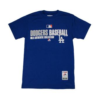 Los Angeles Dodgers Majestic Royal Blue Team Favorite Tee Shirt (Adult S)