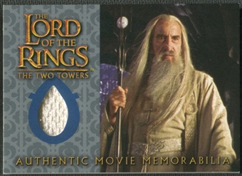 2003 Lord of the Rings Two Towers Update #NNO Saruman's Overtunic Memorabilia