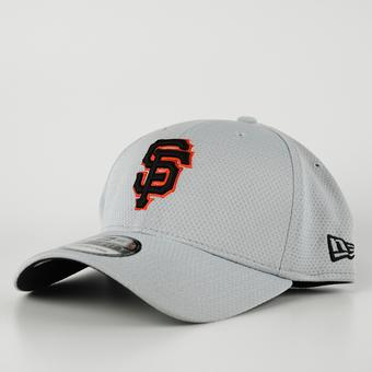 San Francisco Giants New Era Grey 39Thirty Double Timer Flex Fit Hat