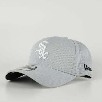 Chicago White Sox New Era Grey 39Thirty Double Timer Fitted Hat (Adult M/L)