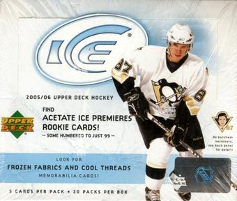 2005/06 Upper Deck Ice Hockey Hobby Box