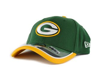 Green Bay Packers New Era Green Team Colors 39Thirty On Field Fitted Hat (Adult S/M)
