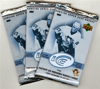2005/06 Upper Deck Ice Hockey Hobby Pack
