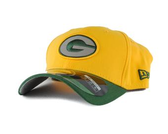 Green Bay Packers New Era Yellow On Field Reflective 39Thirty Flex Fitted Hat (Adult S/M)