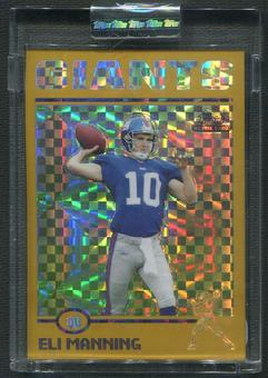2004 Topps Chrome #205 Eli Manning Gold Xfractors Rookie #240/279