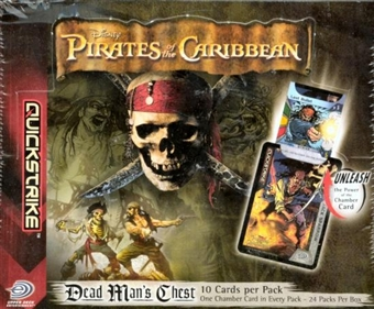 Upper Deck Pirates Of The Caribbean Dead Man's Chest Booster Box
