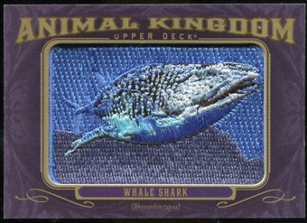 2012 Upper Deck Goodwin Champions Animal Kingdom Patches #AK170 Whale Shark