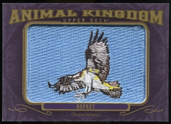 2012 Upper Deck Goodwin Champions Animal Kingdom Patches #AK147 Osprey