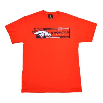 Denver Broncos Majestic Orange Critical Victory VII Tee Shirt (Adult XXL)