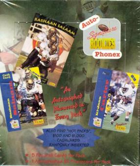 1995 Signature Rookies Auto-Phonex Football Hobby Box