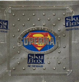 Superman Man of Steel Platinum Series Hobby Box (1994 Skybox)